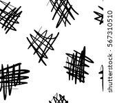 hand drawn seamless ink pattern ...   Shutterstock .eps vector #567310510