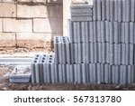 concrete blocks | Shutterstock . vector #567313780