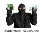 Arrested Masked Thief In...