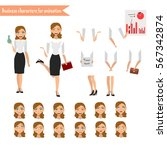 pupil character for your scenes.... | Shutterstock .eps vector #567342874