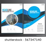 abstract vector modern flyers...   Shutterstock .eps vector #567347140