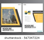 abstract vector modern flyers...