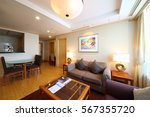 seoul   nov 2  2015  room with... | Shutterstock . vector #567355720