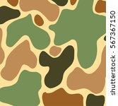 camouflage hakki abstract green ... | Shutterstock .eps vector #567367150