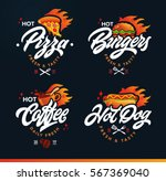 set of labels  logotype and... | Shutterstock .eps vector #567369040