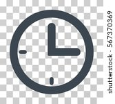 time vector pictograph.... | Shutterstock .eps vector #567370369