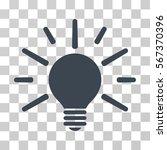 light bulb vector pictogram.... | Shutterstock .eps vector #567370396