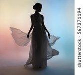 art fashion studio photo of... | Shutterstock . vector #567371194