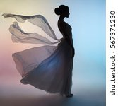 art fashion studio photo of... | Shutterstock . vector #567371230