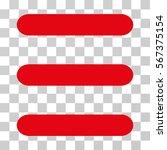 menu items vector icon....