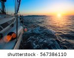 racing on a boats in the wind... | Shutterstock . vector #567386110