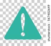 warning error vector pictogram. ...