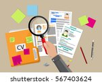 human resources management... | Shutterstock . vector #567403624
