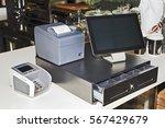 point of sales computer...   Shutterstock . vector #567429679
