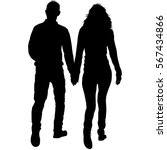 couples man and woman... | Shutterstock .eps vector #567434866
