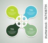 vector circle infographic....   Shutterstock .eps vector #567438754