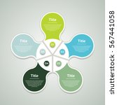 vector circle infographic....   Shutterstock .eps vector #567441058