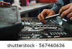 A set of tools for repair in...