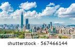 Panoramic Of Taipei City At...