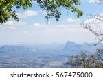 landscape of mountain top view... | Shutterstock . vector #567475000