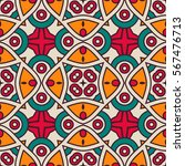 abstract  arabic pattern ... | Shutterstock .eps vector #567476713