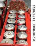 bonang   traditional musical... | Shutterstock . vector #567478513