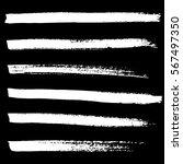 ink vector brush strokes... | Shutterstock .eps vector #567497350