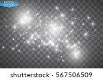 glow light effect. vector... | Shutterstock .eps vector #567506509