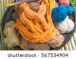 dyeing from natural colors. | Shutterstock . vector #567534904