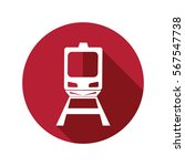 train icon isolated vector sign ...