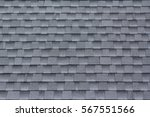 roof shingles background and... | Shutterstock . vector #567551566