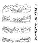 set of illustrations of... | Shutterstock .eps vector #567555370