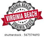 virginia beach | Shutterstock .eps vector #567574693