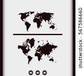 world maps icon. | Shutterstock .eps vector #567586660