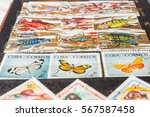 stamp collecting. philatelic.... | Shutterstock . vector #567587458