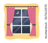 Night Out The Window Icon In...