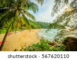 landscape from phuket view... | Shutterstock . vector #567620110