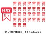 may. calendar icon for every...