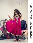 Beautiful Girl In The Indian...