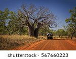 Outback Track At The Kimberley...