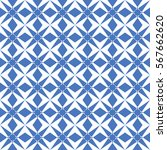 abstract seamless pattern of... | Shutterstock .eps vector #567662620