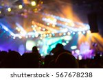 blurred background of concert | Shutterstock . vector #567678238