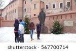 krakow  poland   january  14 ... | Shutterstock . vector #567700714