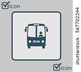 bus icon. schoolbus symbol....   Shutterstock .eps vector #567702244