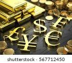 finance  stock exchange concept ... | Shutterstock . vector #567712450