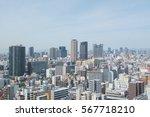 osaka  japan   april 26  2016 ... | Shutterstock . vector #567718210