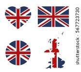 Symbols United Kingdon Framed...