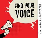 megaphone hand  business...   Shutterstock .eps vector #567732604