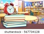 a modern classroom as very... | Shutterstock . vector #567734128