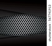 vector of abstract metallic...   Shutterstock .eps vector #567741913